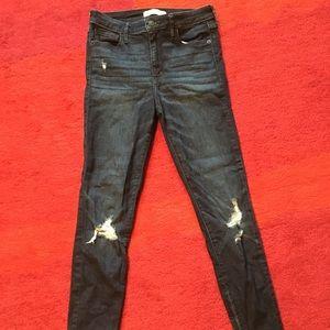 Abercrombie Dark Blue Jeans